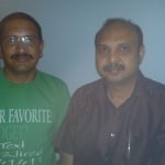 Me with Dr. Kannan Rajaram