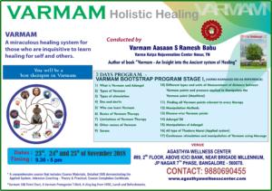 Varmam Course November 18