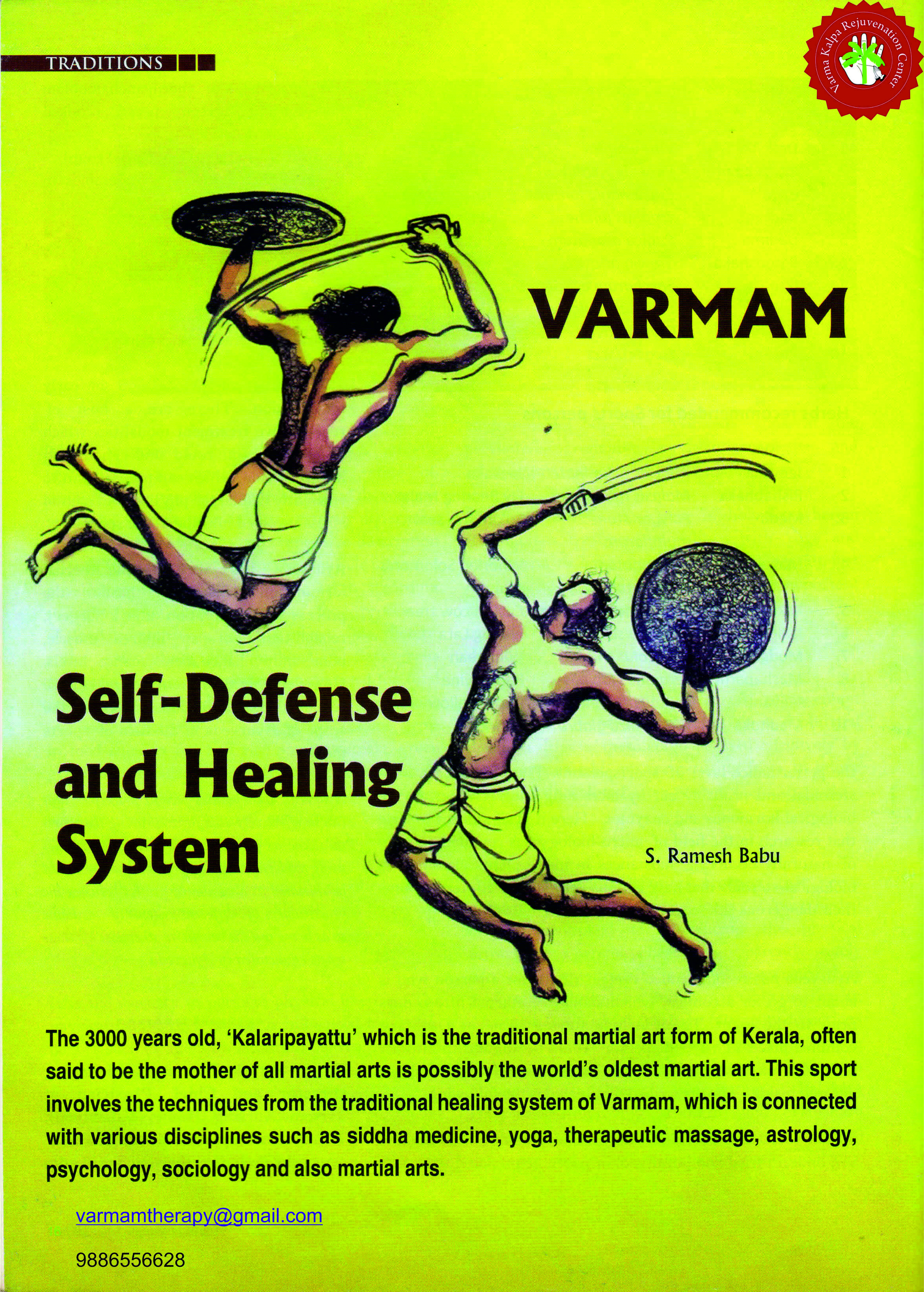 Health Amruth Article Varmam Healing Page 1